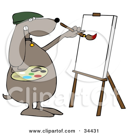 Royalty Free  Rf  Easel Clipart Illustrations Vector Graphics  1