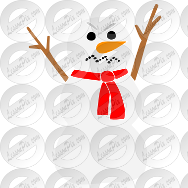 Stencil For Classroom   Therapy Use   Great Angry Snowman Clipart