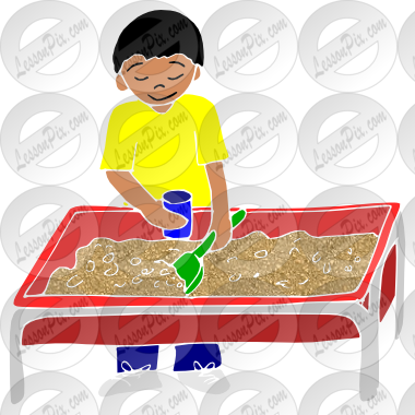 Stencil For Classroom   Therapy Use   Great Sensory Table Clipart