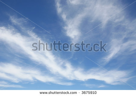 Stratus Cloud Clipart Blue Sky With Stratus Clouds
