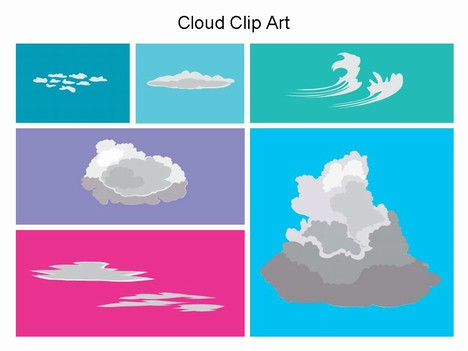 Stratus Clouds Clipart Cloud Clip Art Powerpoint