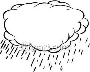 Stratus Clouds Clipart Large Common Rain Cloud