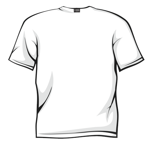 White T-shirt Clipart - Clipart Kid