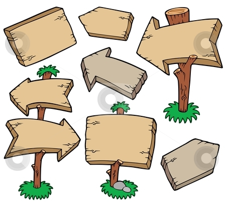 Wooden Board Clipart