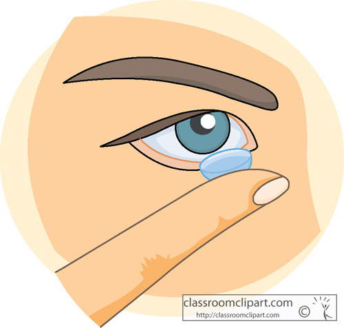 Anatomy   Contact Lens   Classroom Clipart