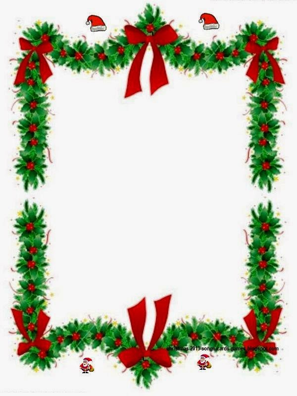 Clause Clip Art Borders Pictures Christmas Tree Clip Art Borders 2014
