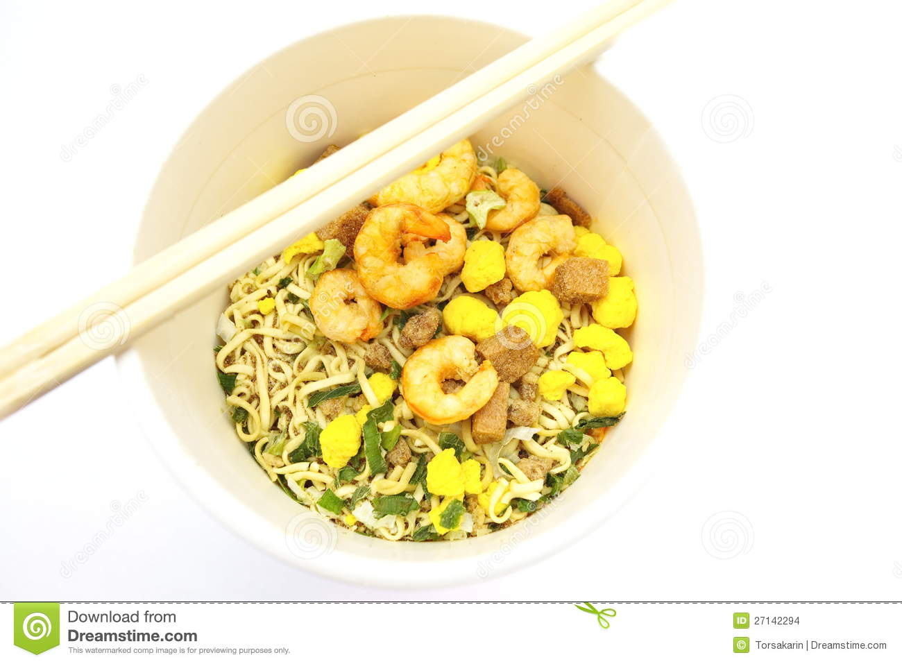 Cup Noodles Stock Images   Image  27142294