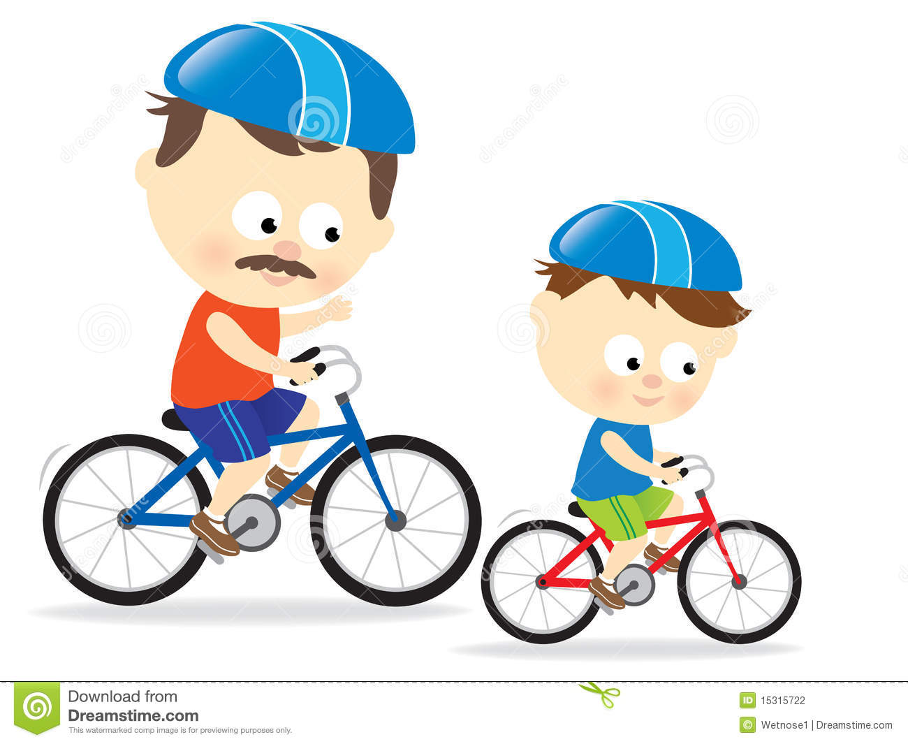 Father And Son Riding Bicycle   Clipart Panda   Free Clipart Images