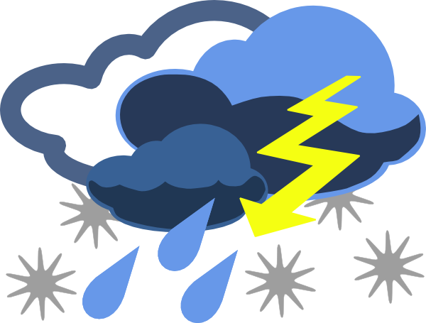 Inclement Weather Clip Art At Clker Com   Vector Clip Art Online