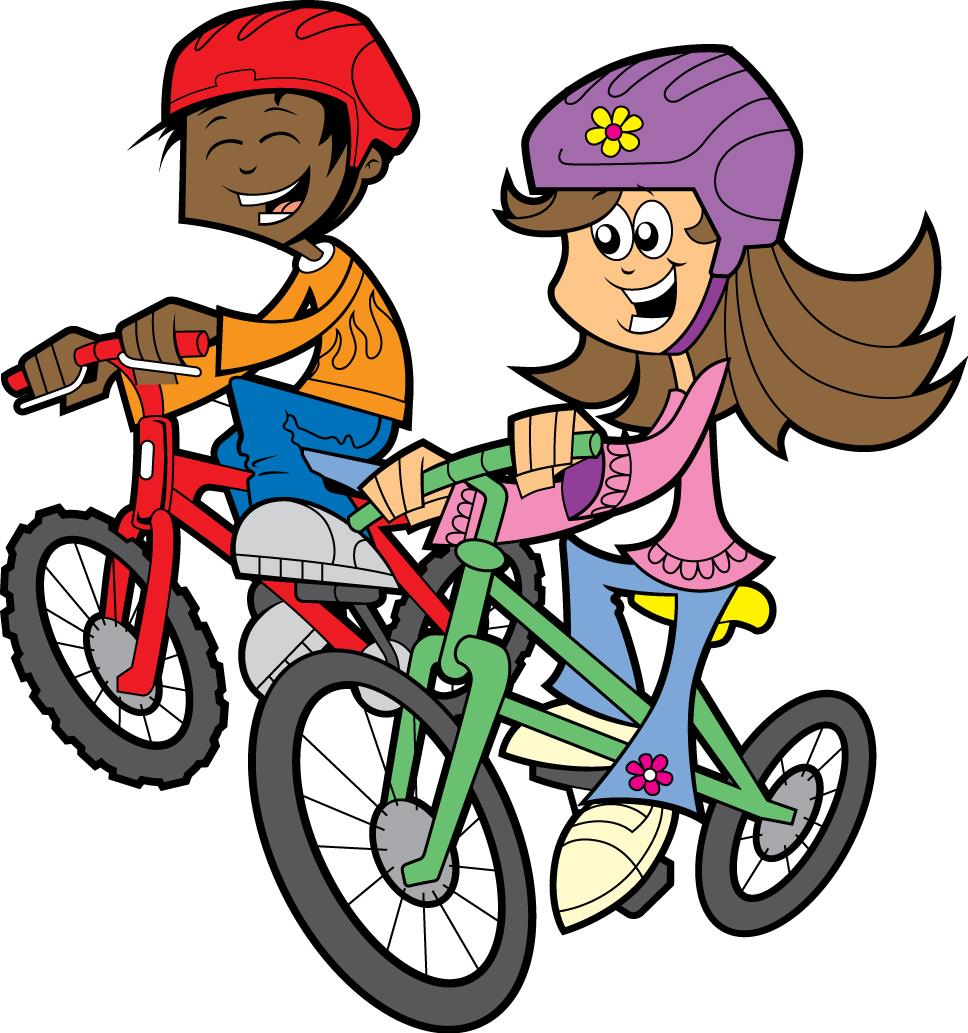 Kids Riding Bikes Clipart   Clipart Panda   Free Clipart Images