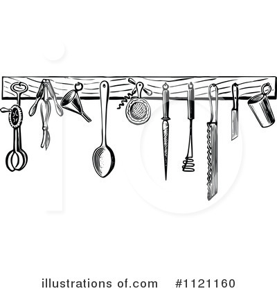 vintage kitchen utensils clipart  clipart kid,