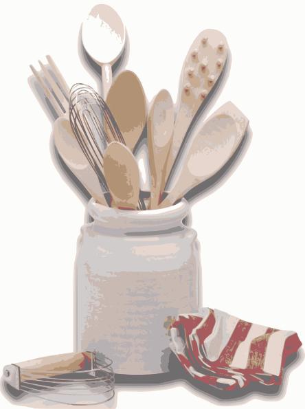 Kitchen Tools Utensils Clip Art At Clker Com   Vector Clip Art Online
