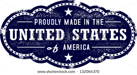 Made In The United States Usa Stock Vector Illustration 132064370
