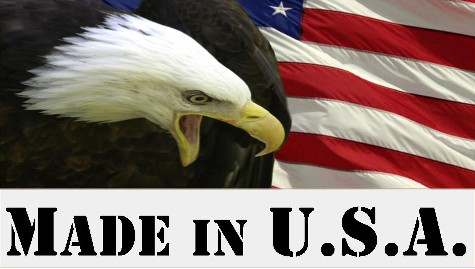 Made In Usa Logo  Click For Large Printable File Of This Made In U S A