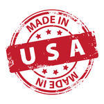 Made In Usa Vector Round Blue Stamp Stock Vector   Clipart Me