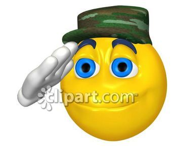 Military Salute Clipart