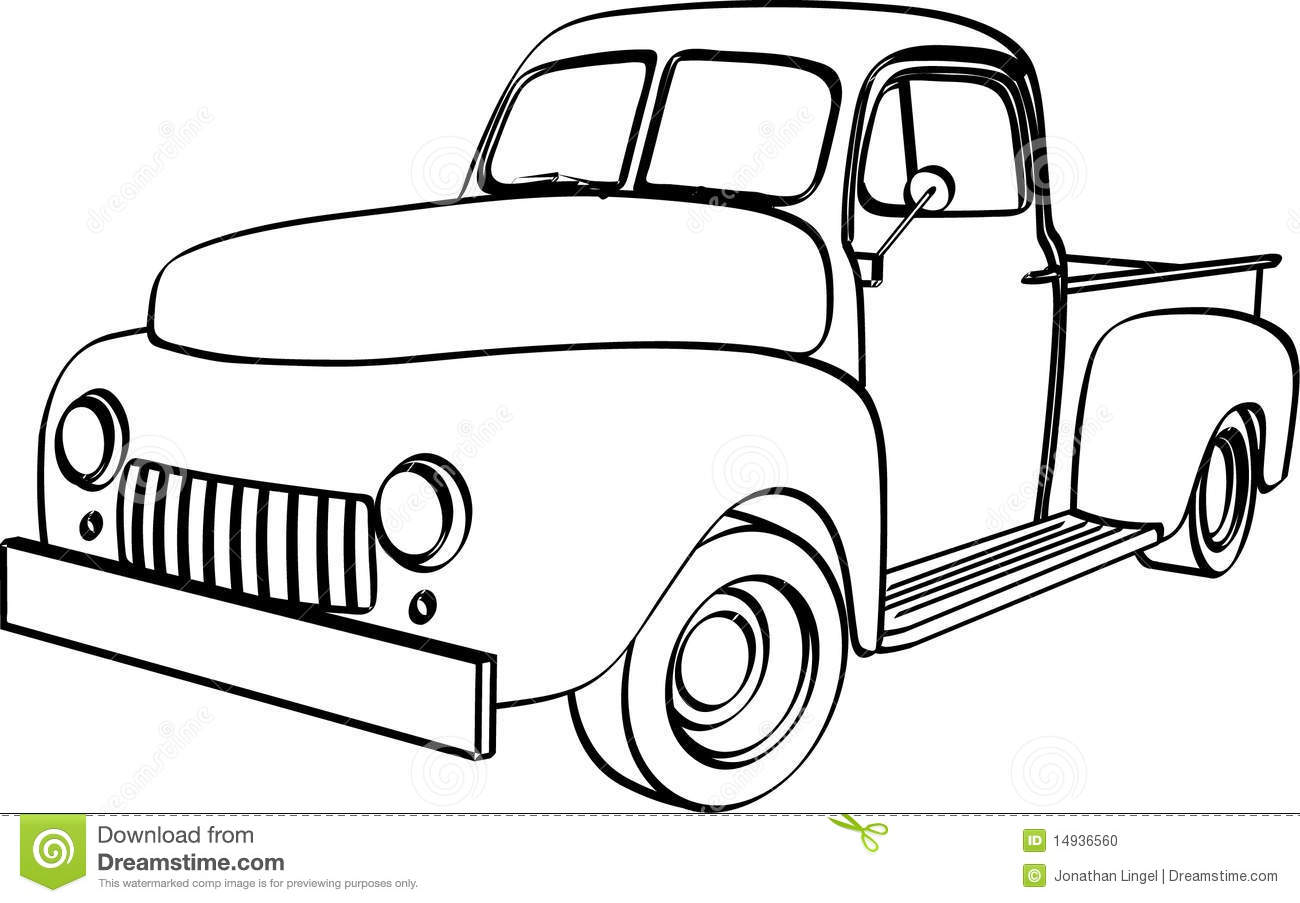 Clip Art Pickup Truck Front Cliparts on Red International Pickup Truck