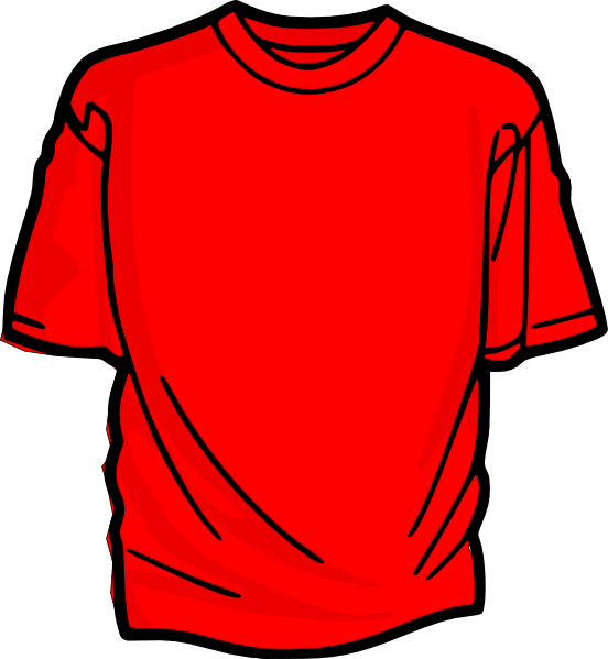 Red T Shirt Clip Art At Clker Com Vector Clip Art Online Royalty