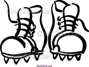 Related Pictures Soccer Cleat Vector Clipart Illustration