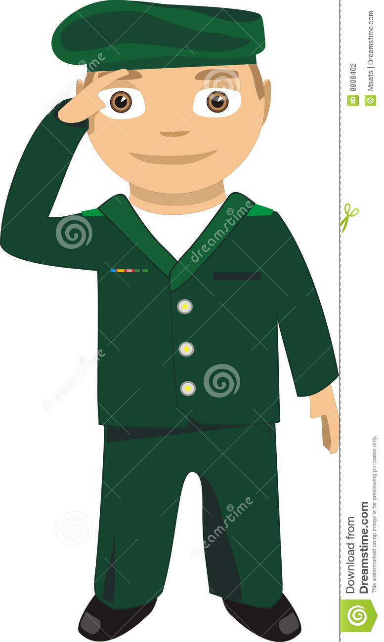 Salute Clipart Military Salute