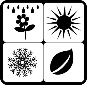 Seasons Clipart Image  Four