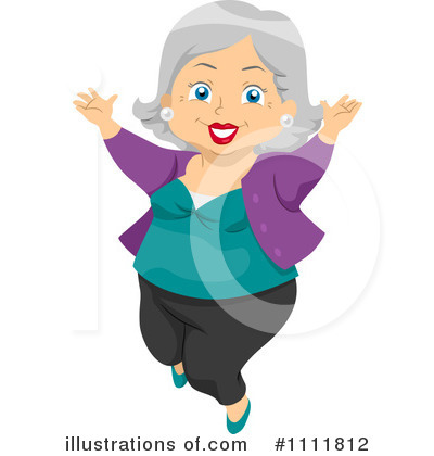 Senior Woman Clipart  1111812 By Bnp Design Studio   Royalty Free  Rf