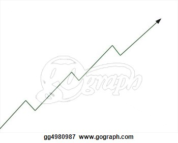 Stock Illustration   3d Zig Zag Arrow  Clip Art Gg4980987