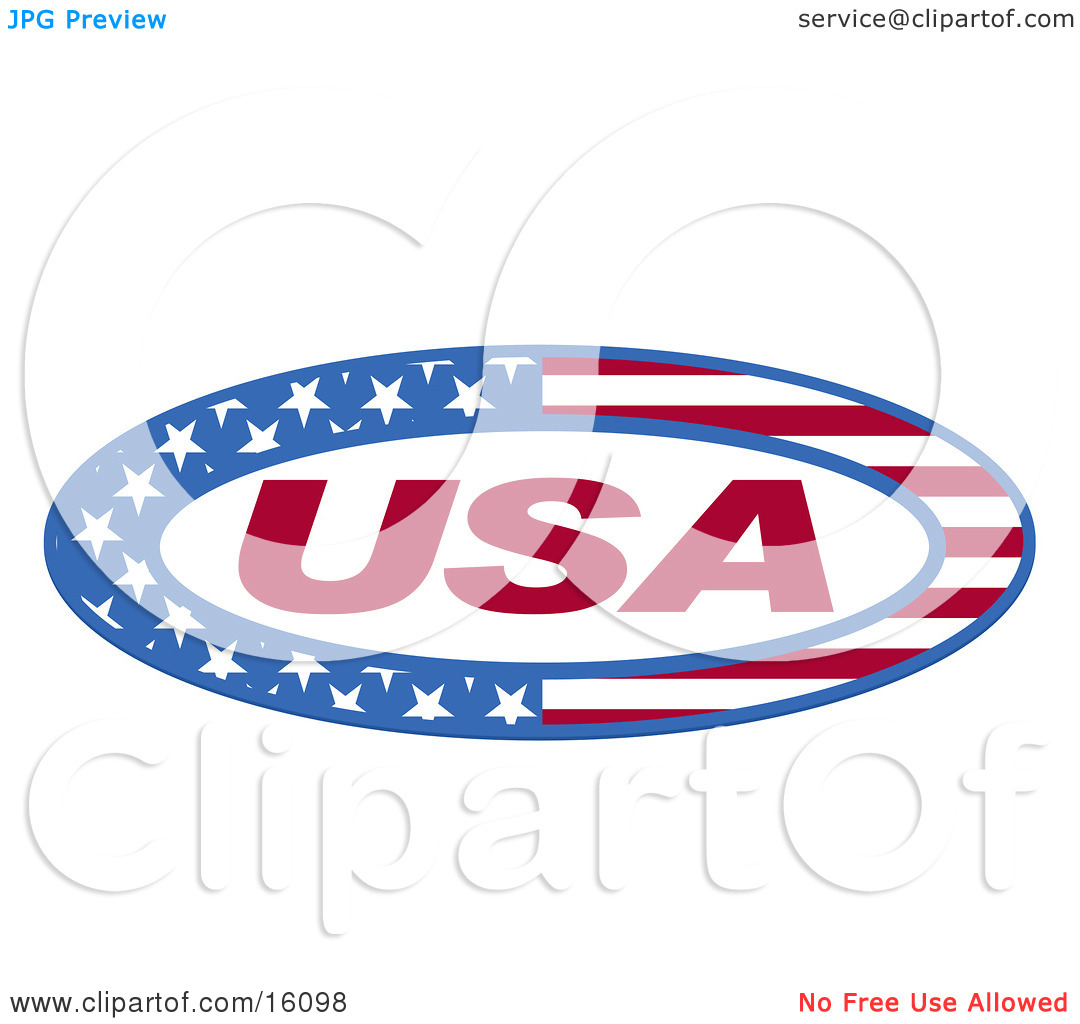 Usa Made In The United States Clipart Illustration By Andy Nortnik