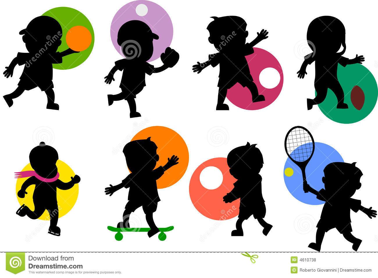Sport Cartoon Clipart - Clipart Kid