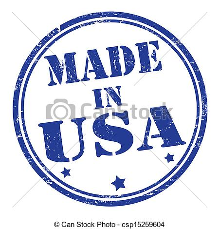Vector Clipart Of Made In Usa Stamp   Made In Usa Grunge Rubber Stamp