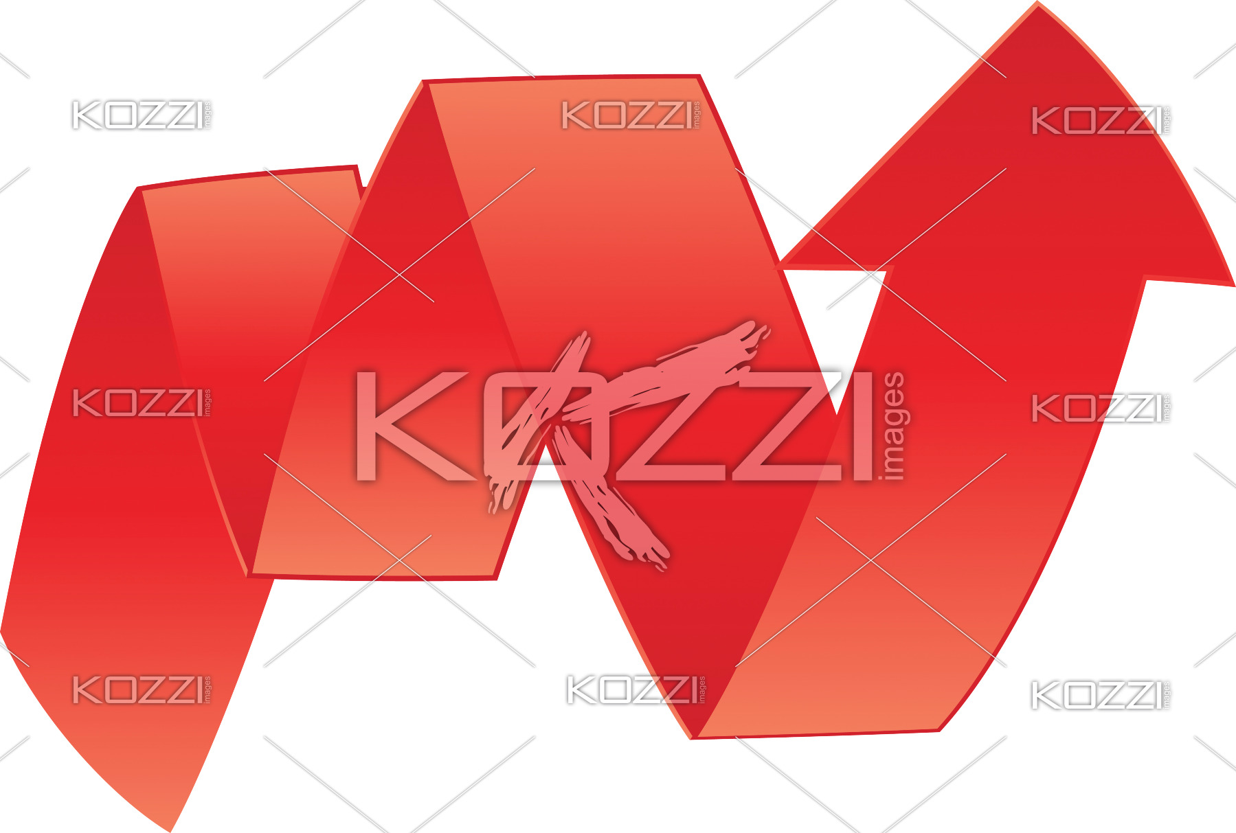 Zig Zag Arrow Sign    Royalty Free Image Id 24751751