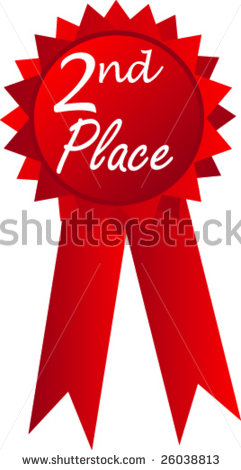 2nd Place Ribbon Award Clipart   Free Clip Art Images