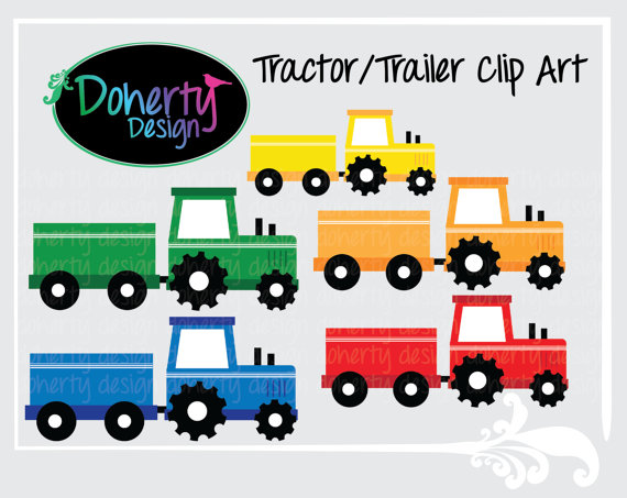 Tractor Cart Clip Art : Tractor and wagon clipart suggest