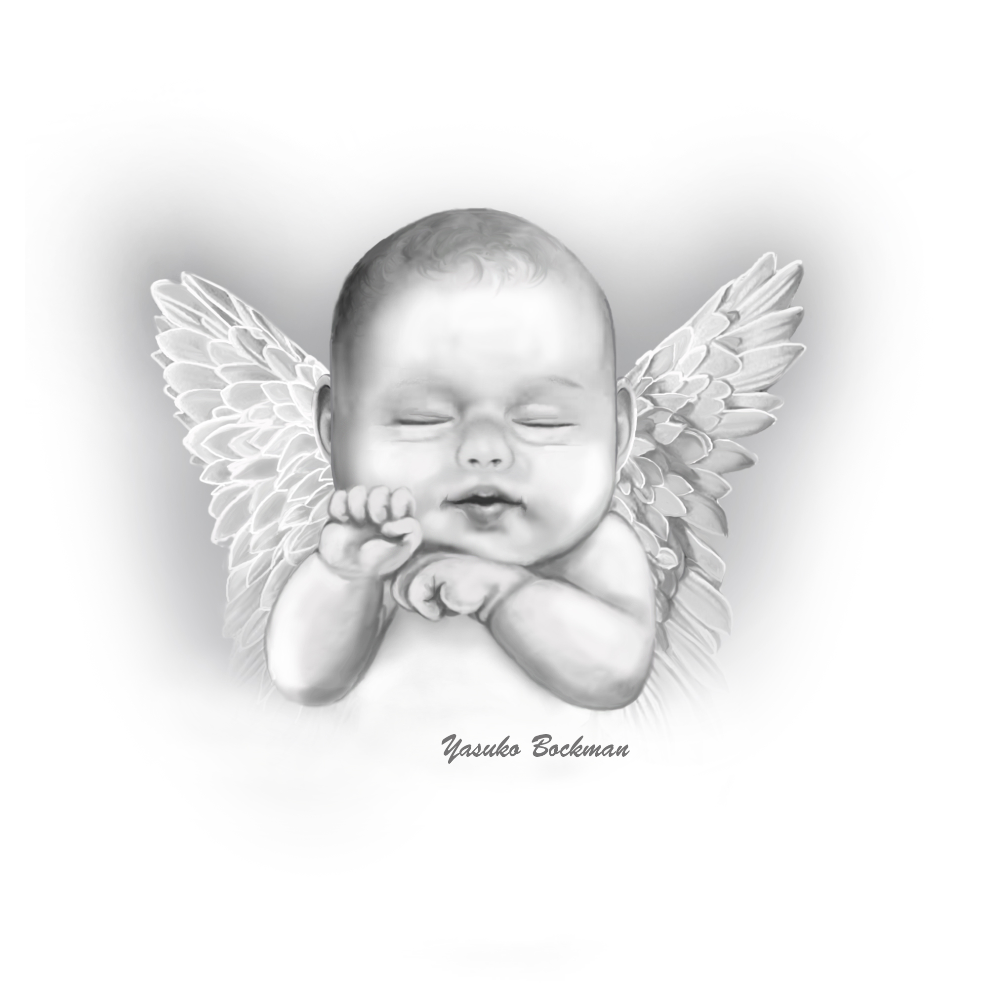 Baby Angel Wings Clipart - Clipart Suggest