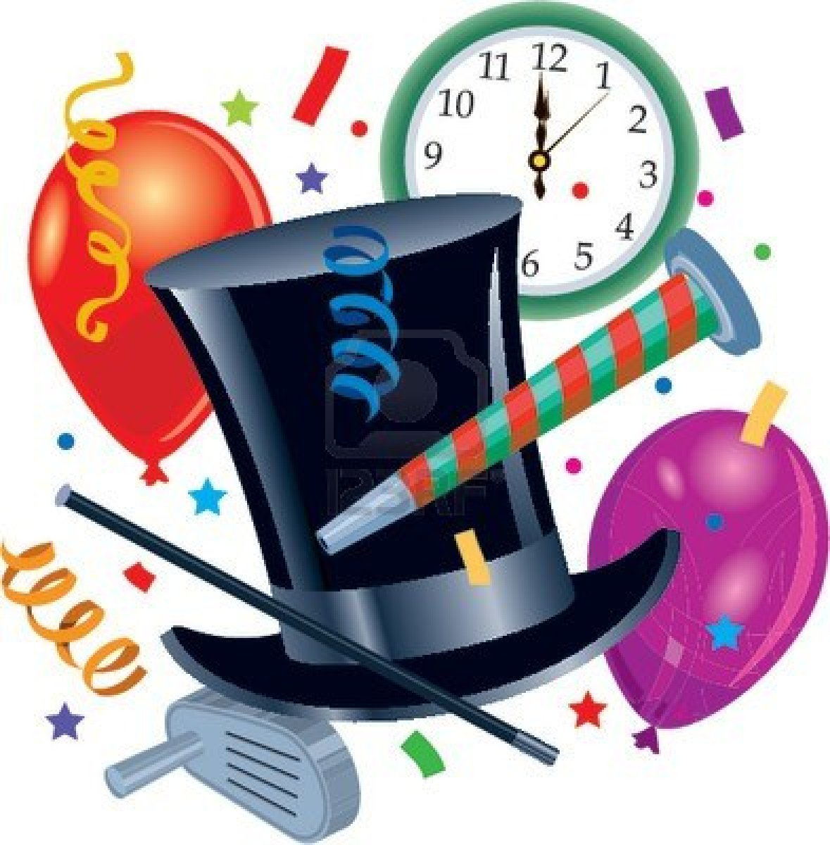 New Year's Eve Party Clip Art – Cliparts