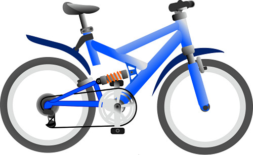Clip Art Clipart Bicycle cartoon bicycle clipart kid panda free images