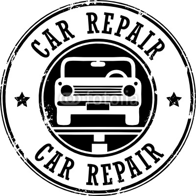 Car Repair Grunge Stamp Vector Illustration Stock Image And Royalty