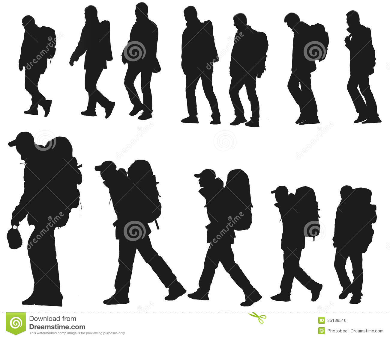 Displaying 20  Images For   Hiking Backpack Clipart
