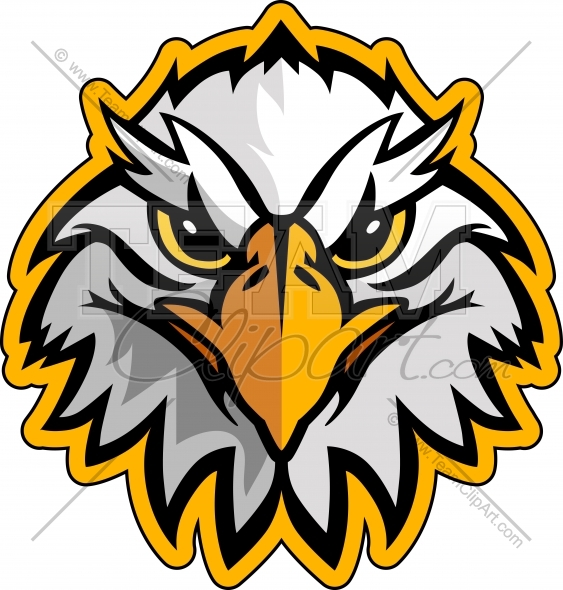 Clip Art School Mascots Eagles Clipart - Clipart Kid