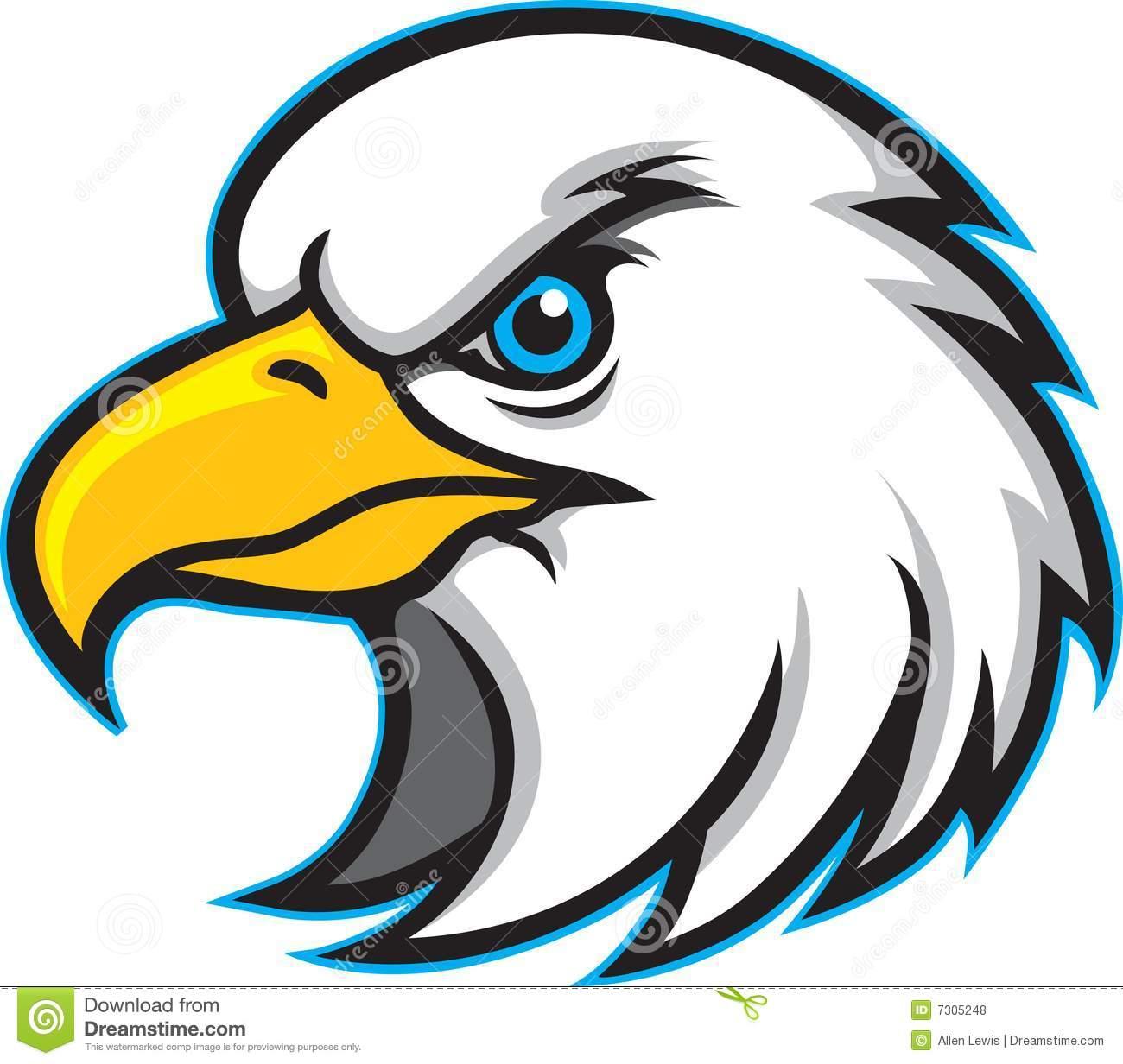 Eagle Mascot Clipart - Clipart Suggest