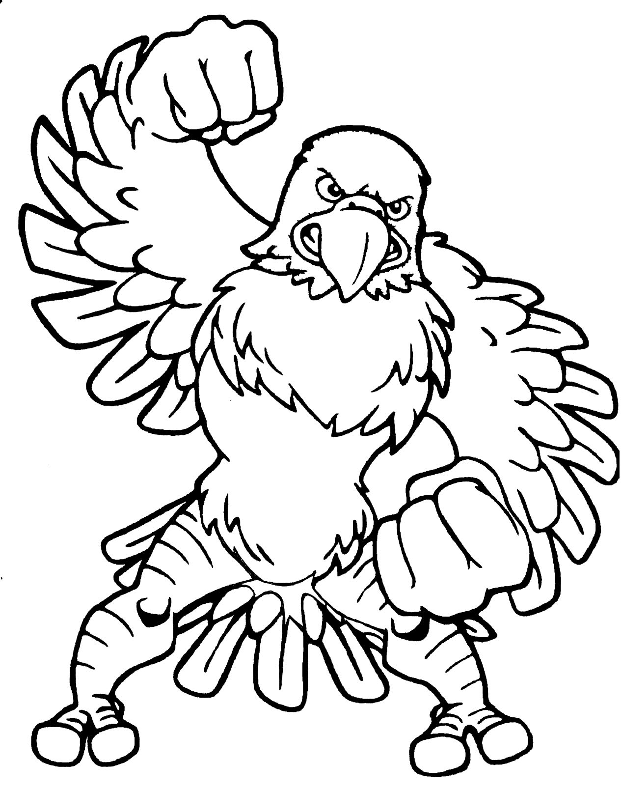 Eagle Mascot Clipart Free Cliparts That You Can Download To You