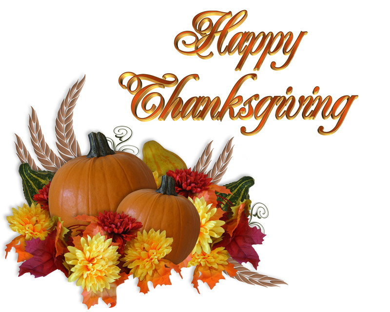 happy thanksgiving clip art - photo #43