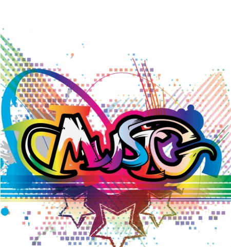 Home   Music   Background Vector Colorful Music Illustration