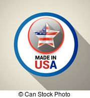 Made Usa Clip Art Vector And Illustration  640 Made Usa Clipart Vector