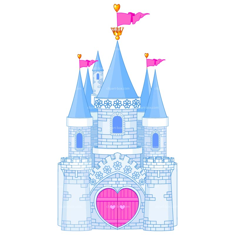 Princess Castle Clipart - Clipart Kid