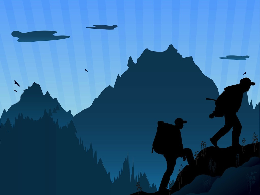 Related Pictures Traveling Mountain Climbing Clip Art