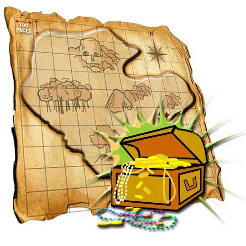 Treasure Hunt Clipart - Clipart Suggest
