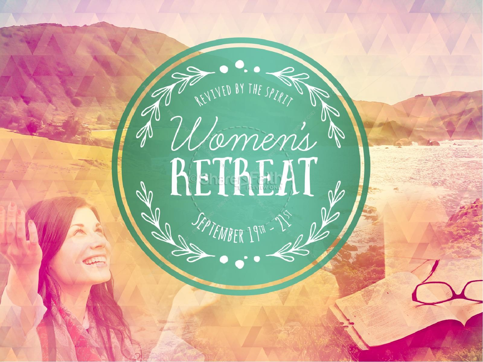 Christian Women Retreat Clipart Clipart Suggest
