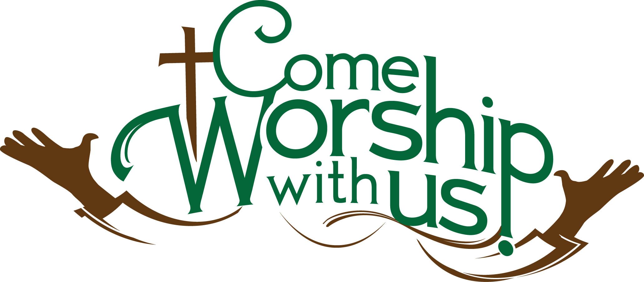 Sunday Worship Clip Art