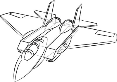 Plane Drawings Clipart Clipart Suggest